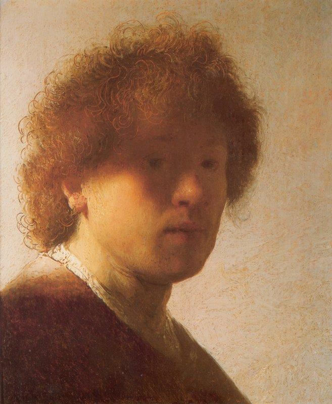 Self-portrait as a young man - Caspar David Friedrich