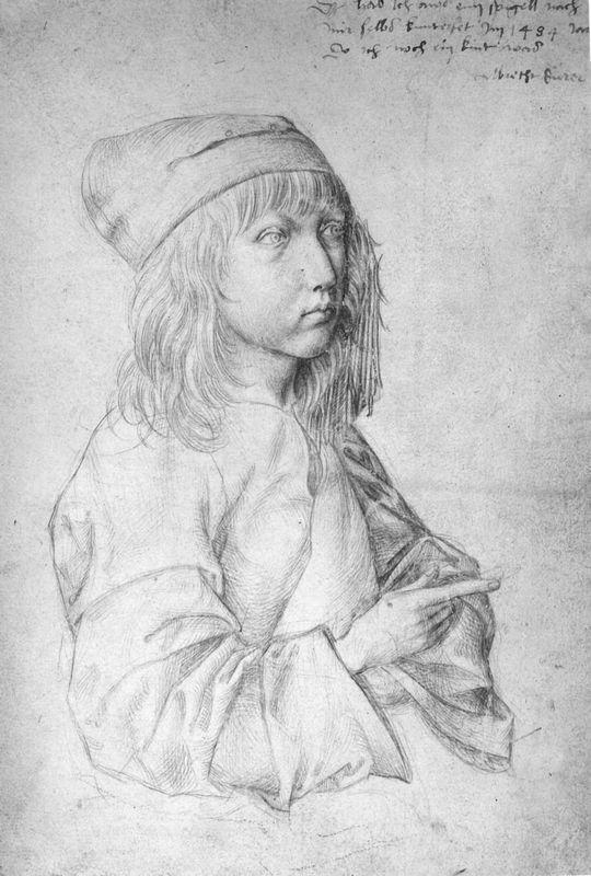 Self-Portrait at 13 - Albrecht Durer