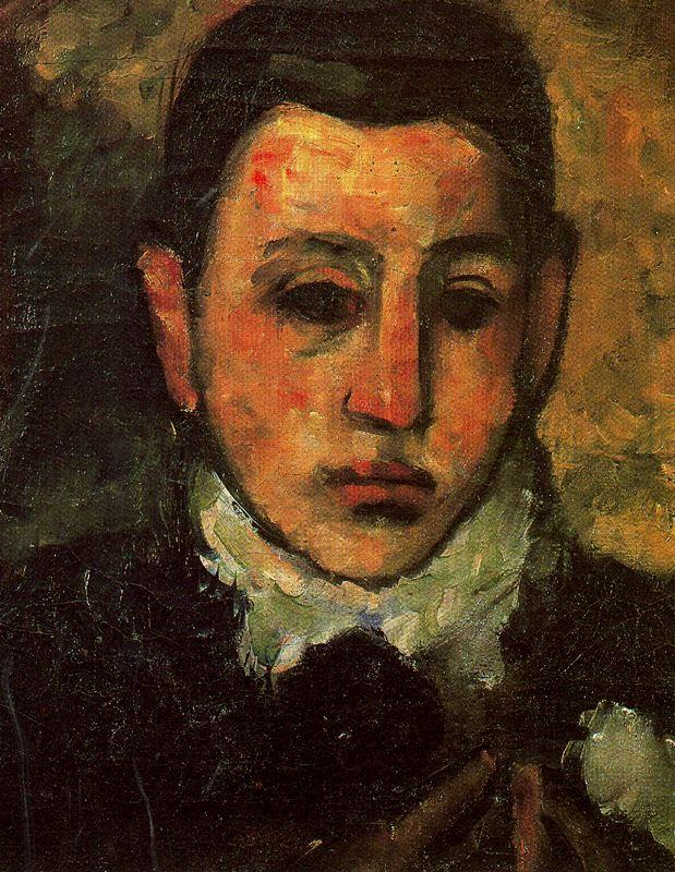 Self-Portrait at the Age of Nine  - Arshile Gorky
