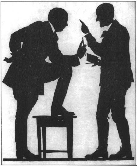 Self-Portrait (Conversation of Narbut and L. Grabuzdov) - Heorhiy Narbut