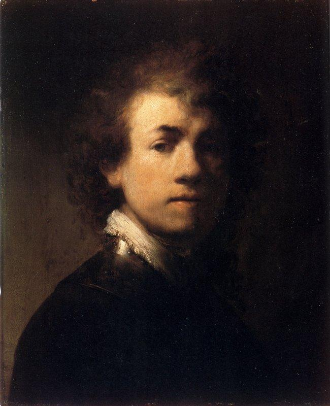 Self-portrait In A Gorget - Rembrandt