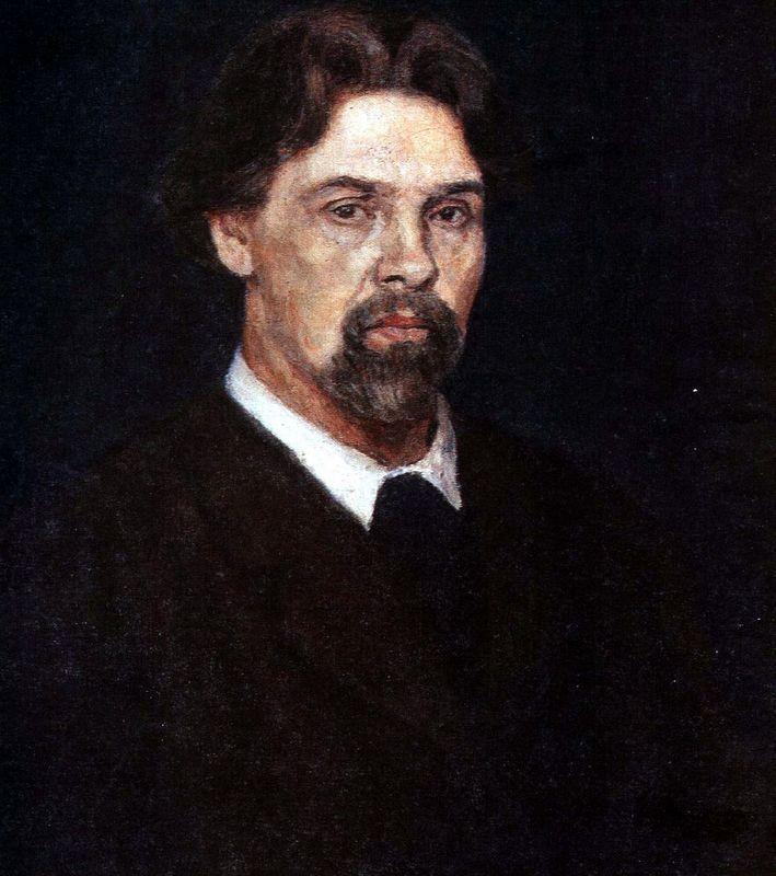 Self-Portrait (Man with hurt hand) - Vasily Surikov