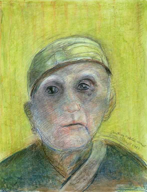 Self-Portrait (No.20) - Ivan Albright