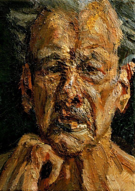 Self-Portrait, Reflection - Lucian Freud