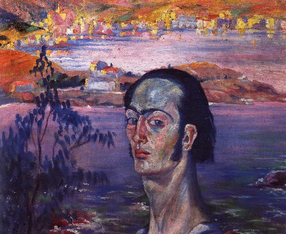 Self-Portrait with Raphaelesque Neck - Salvador Dali