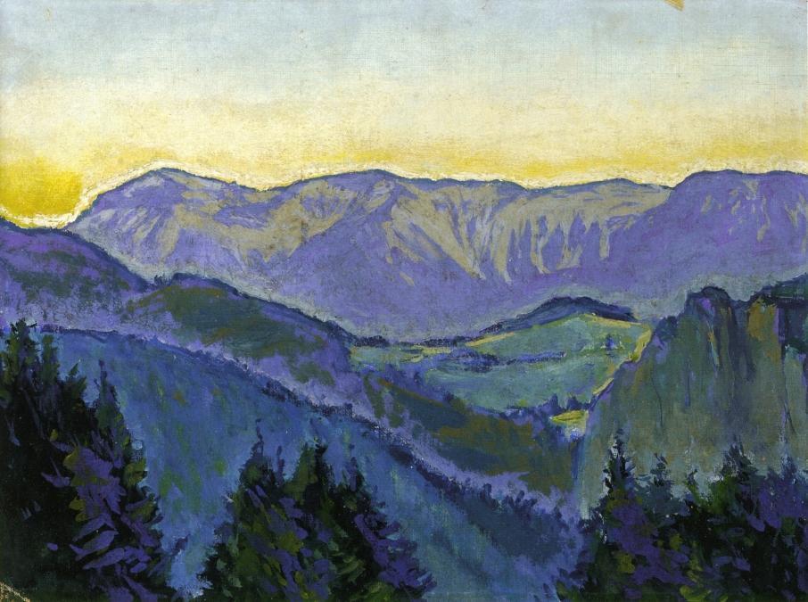 Semmering Landscape - Koloman Moser