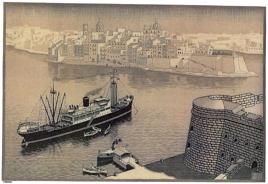 Sengela, Malta - M.C. Escher
