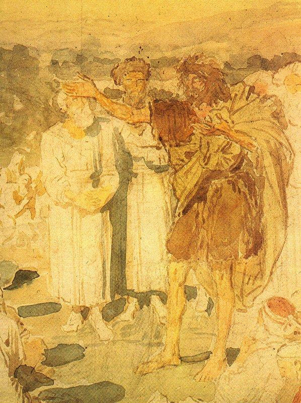 Sermon of Saint John the Baptist - Alexander Ivanov