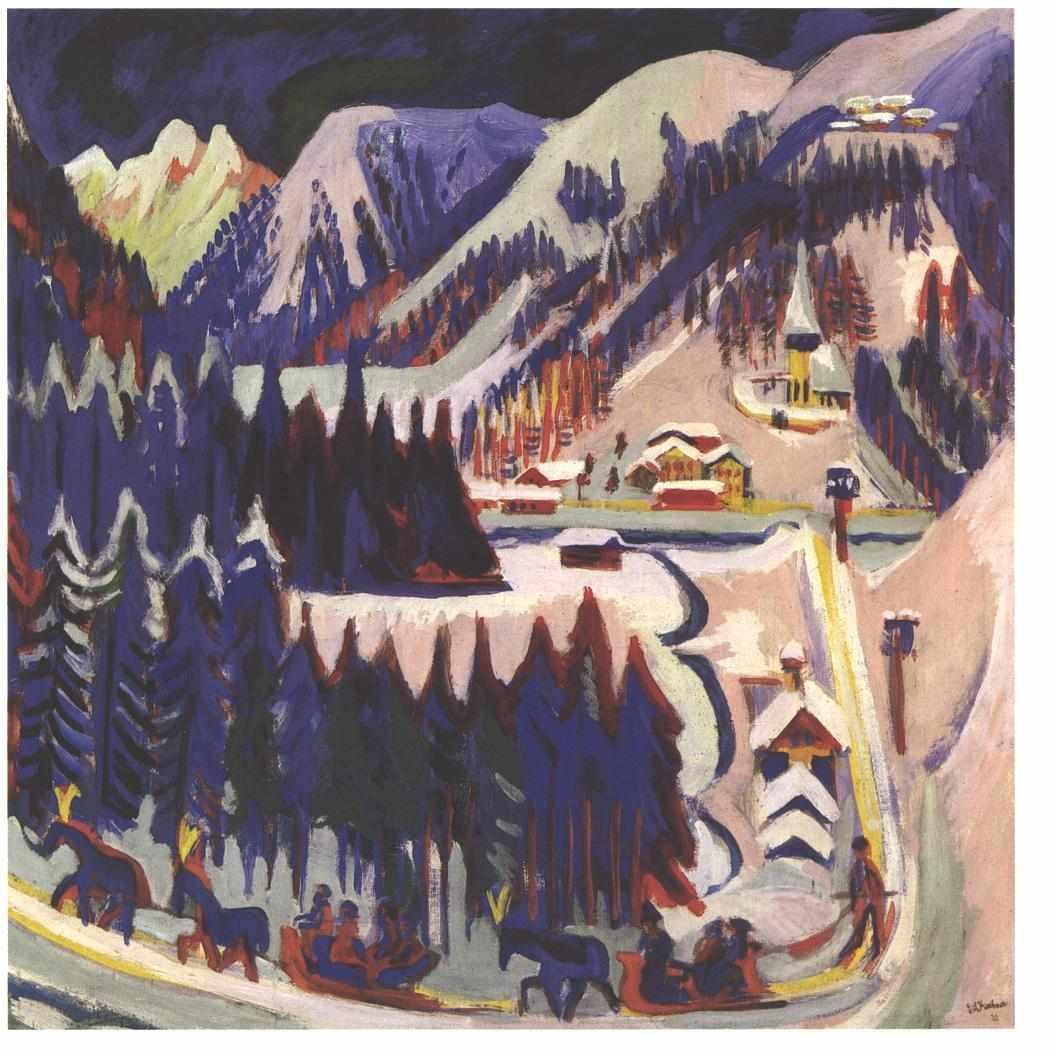 Sertigtal - Ernst Ludwig Kirchner