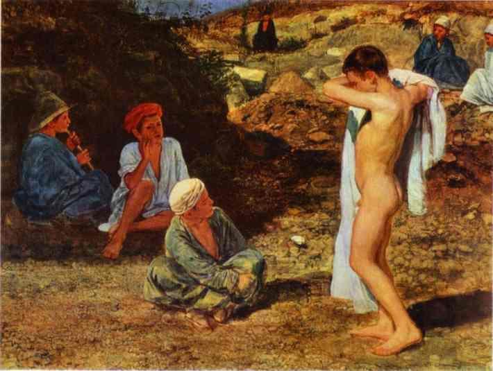 Seven Boys in Colourful Clothes - Alexander Ivanov