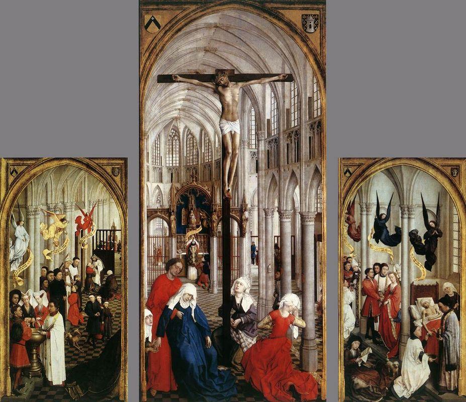 Seven Sacraments Altarpiece - Rogier van der Weyden