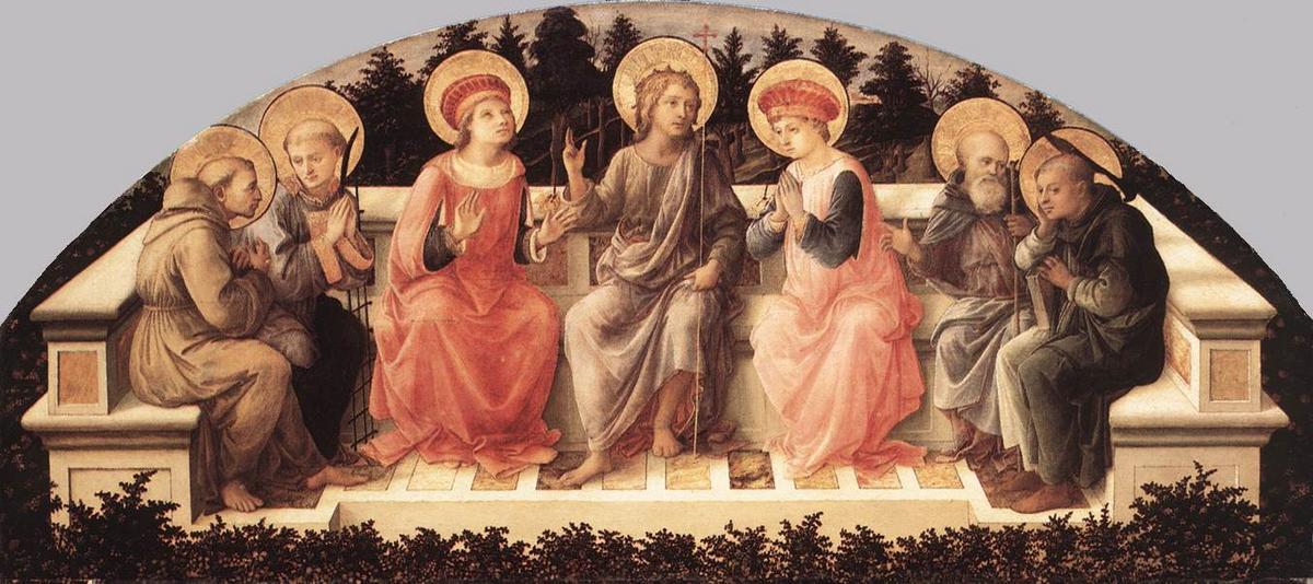 Seven Saints - Filippo Lippi
