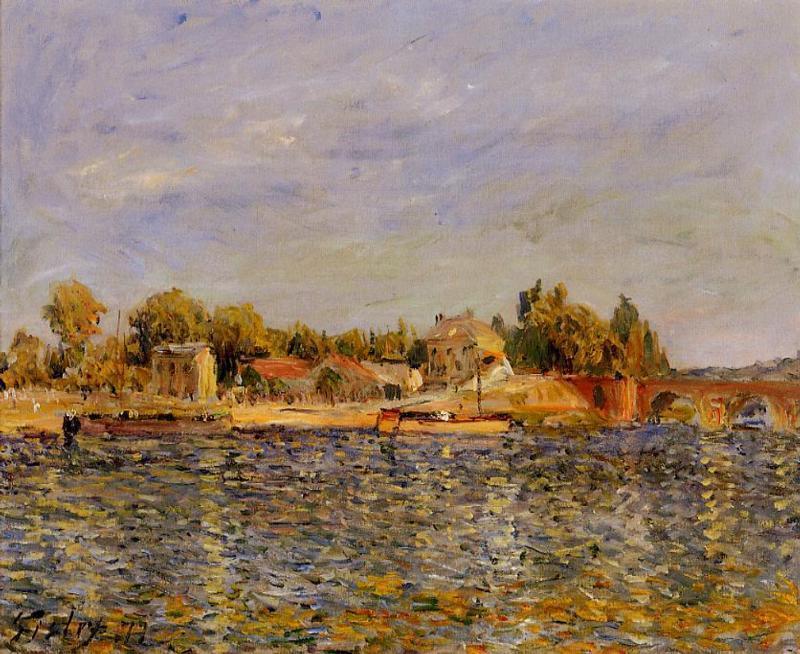 Sevres Bridge - Alfred Sisley