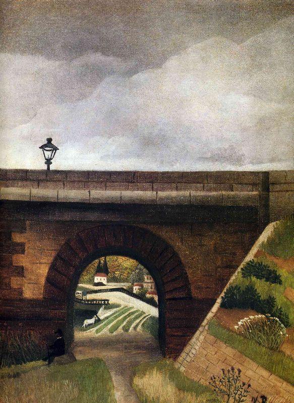 Sevres Bridge - Henri Rousseau