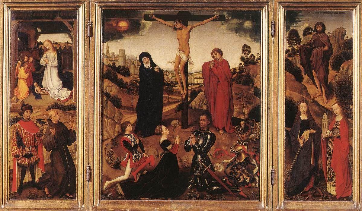 Sforza Triptych - Rogier van der Weyden
