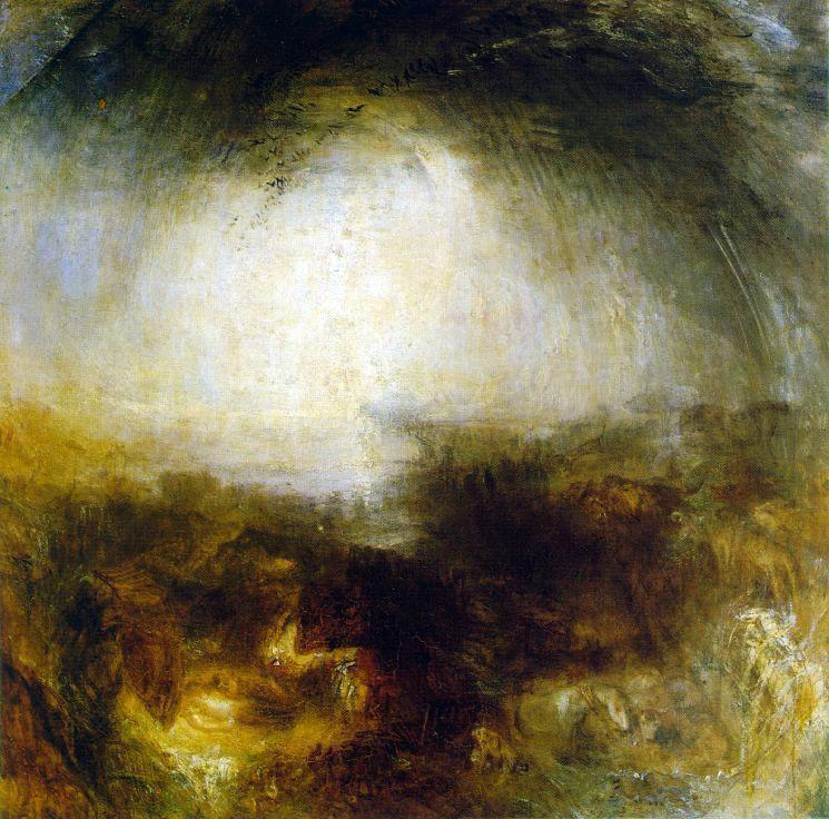 Shade and Darkness, The Evening of The Deluge - William Turner