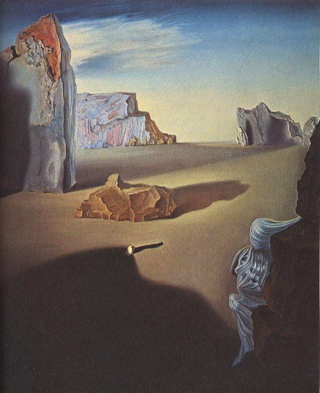 Shades of Night Descending - Salvador Dali