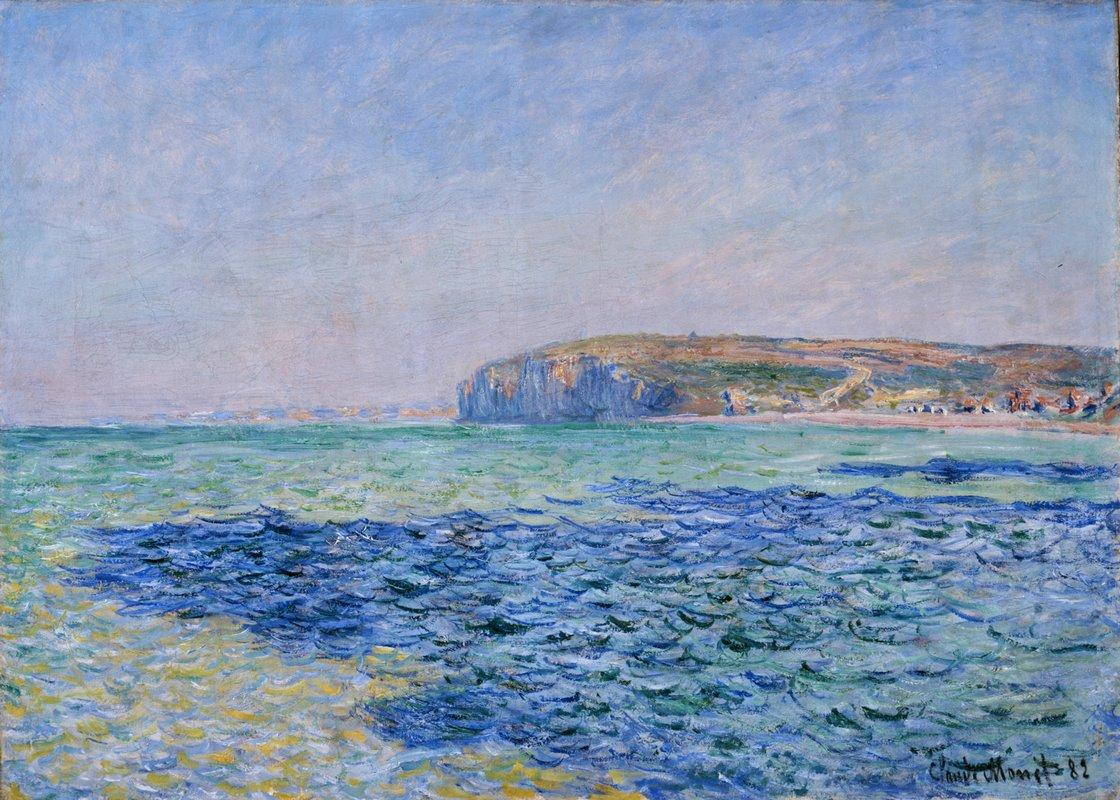 Shadows on the Sea at Pourville - Claude Monet