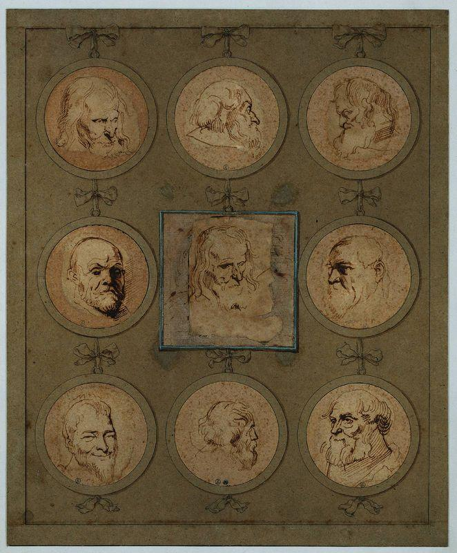 Sheet of Studies - Anthony van Dyck