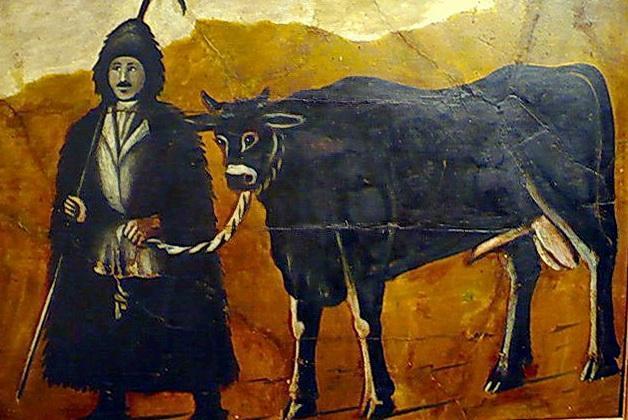 Shepherd - Niko Pirosmani