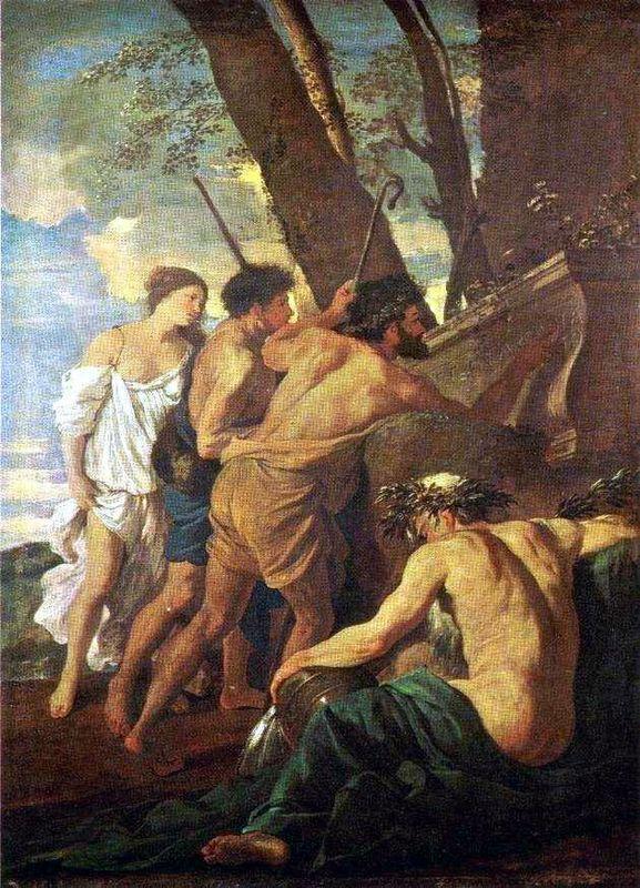 Shepherds of Arcadia - Nicolas Poussin
