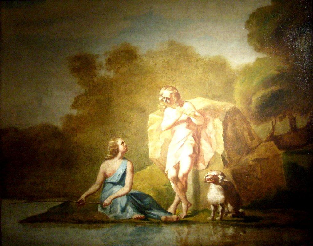 Shepherds of Arcadia - Jean-Francois Millet