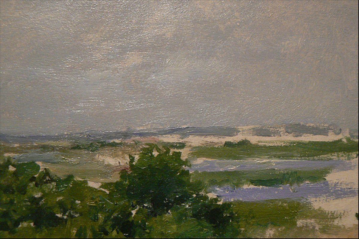 Shinnecock Hills (A View of Shinnecock) - William Merritt Chase