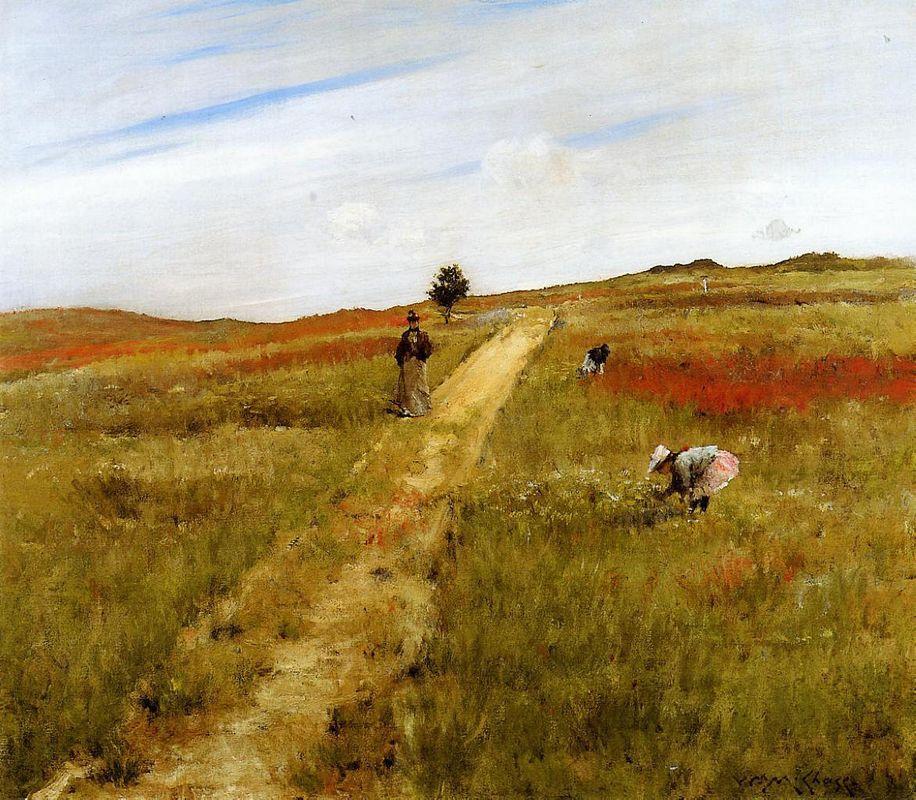 Shinnecock Hills (Shinnecock Hills Autumn) - William Merritt Chase