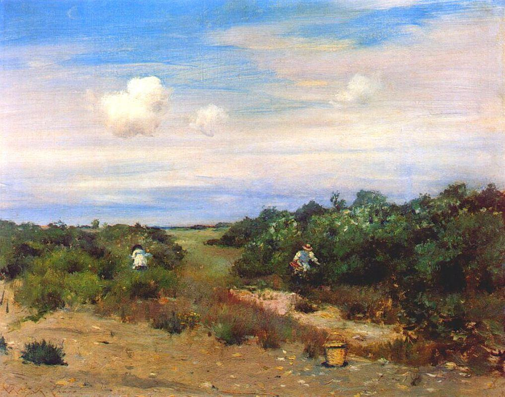 Shinnecock Hills, Long Island - William Merritt Chase