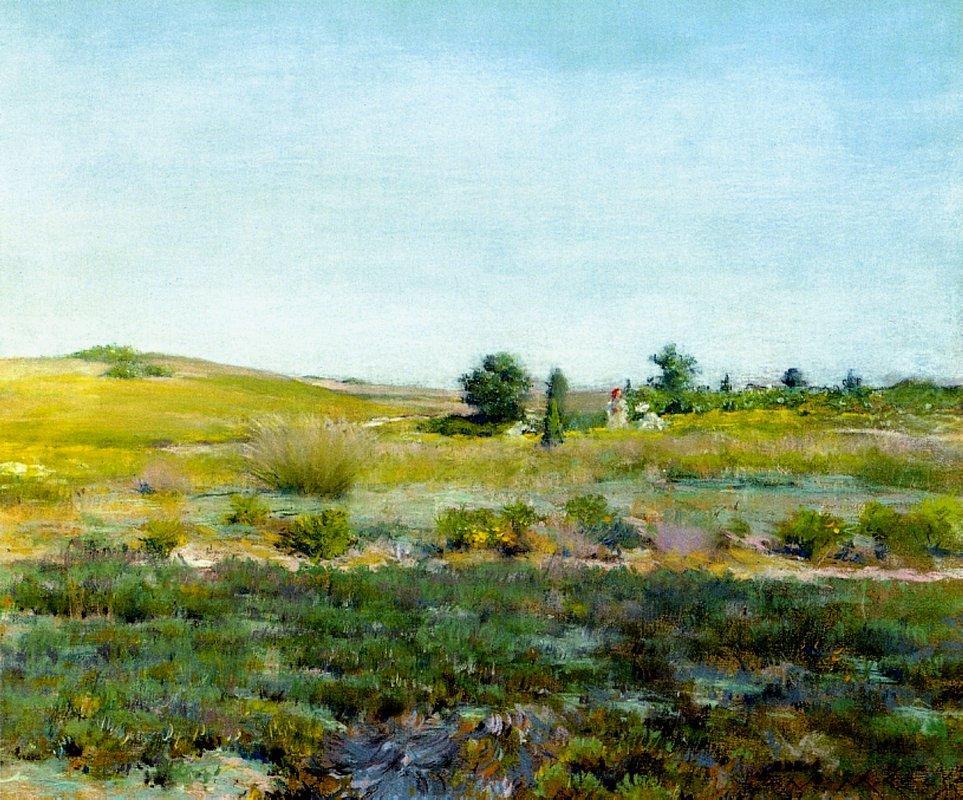 Shinnecock Hills, Summer - William Merritt Chase