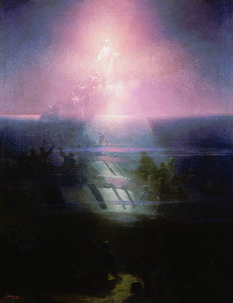 Shipwreck of Lefort - Ivan Aivazovsky