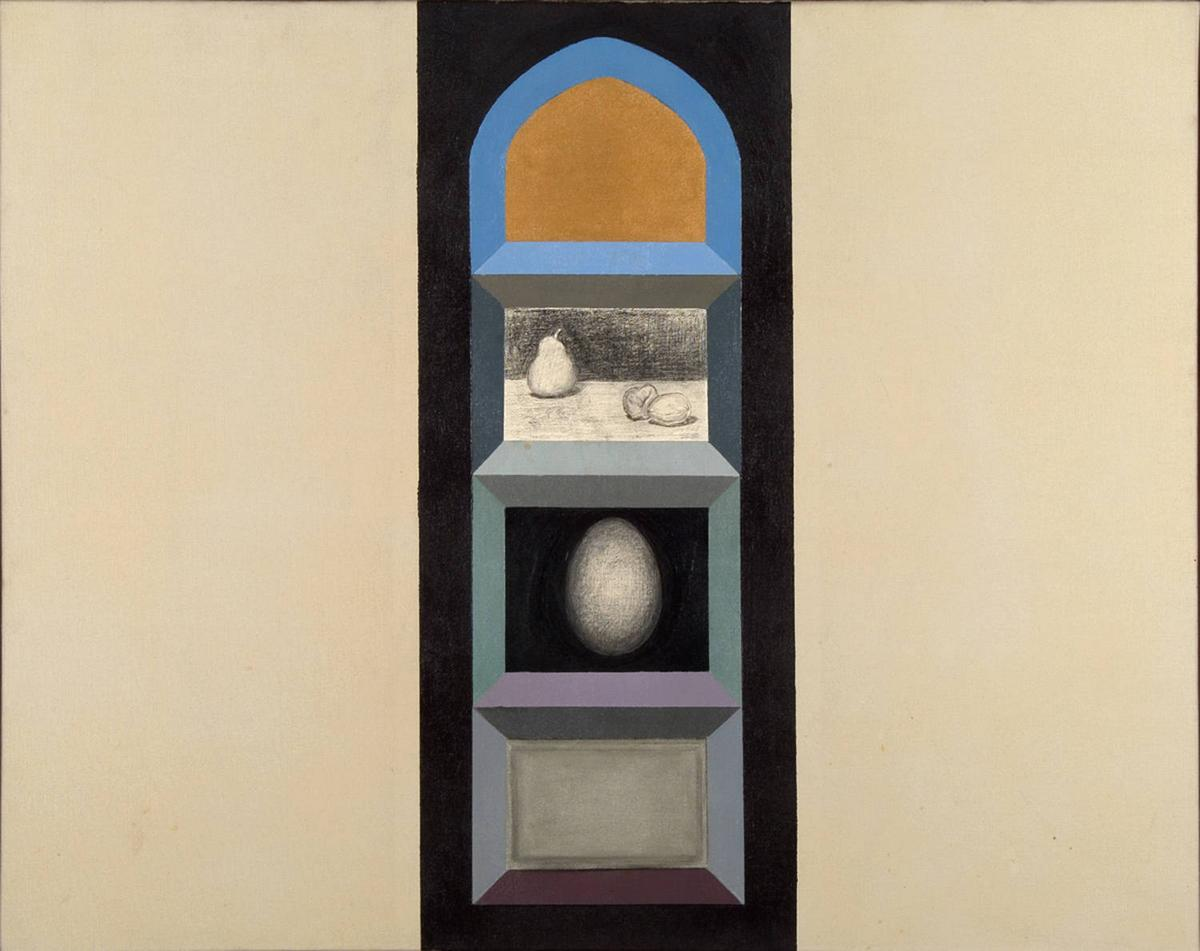 Shrine (for R.K.) II, 1963 - Miriam Schapiro
