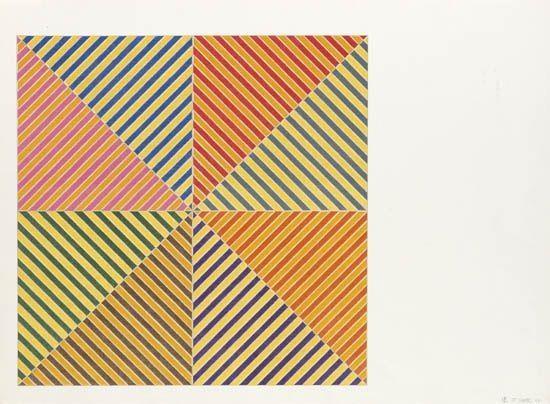 Sidi Ifni (from America's Hommage a Picasso) - Frank Stella