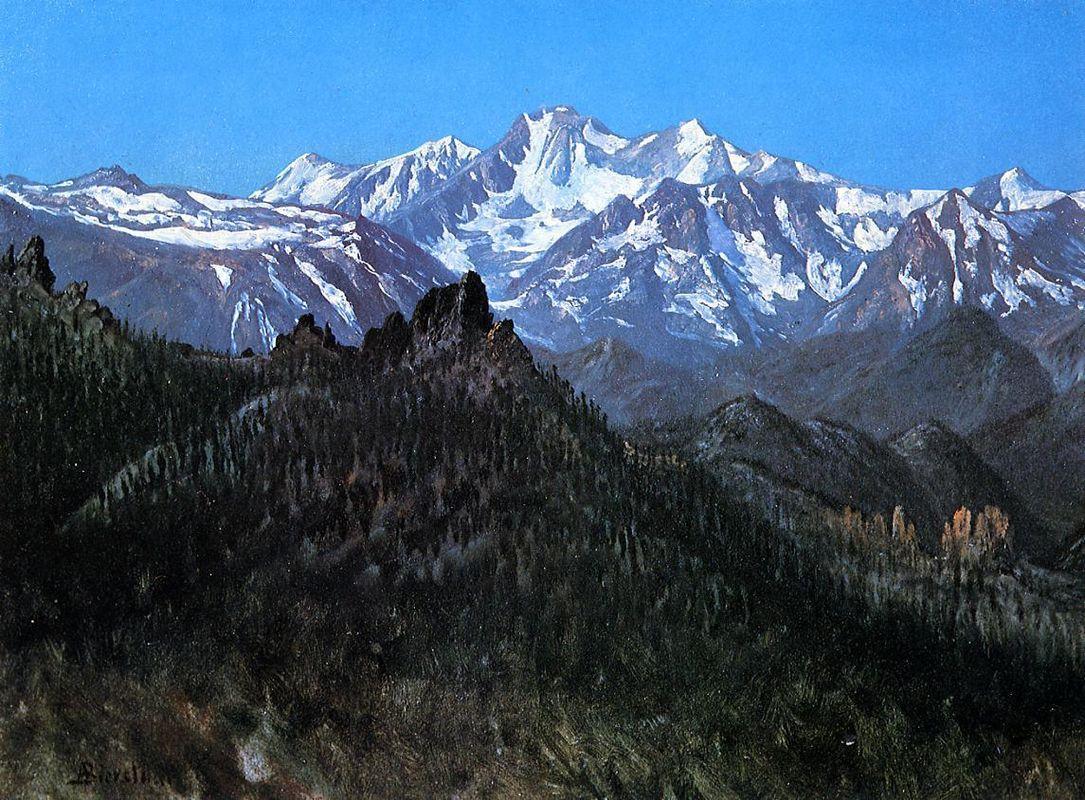 Sierra Nevada - Albert Bierstadt