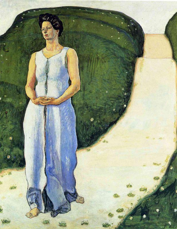 Silence of the Evening - Ferdinand Hodler