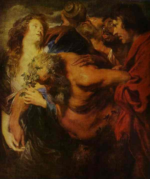 Silenus Drunk - Anthony van Dyck