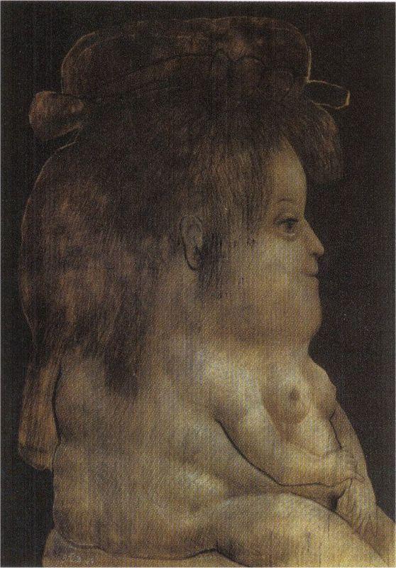 Silhouette Profile - Fernando Botero