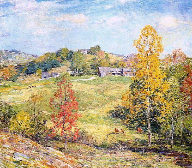 Sillon - Willard Metcalf