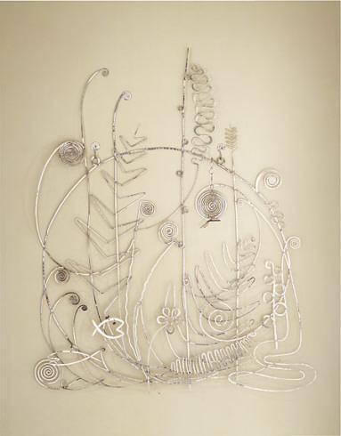 Silver Bed Head  - Alexander Calder