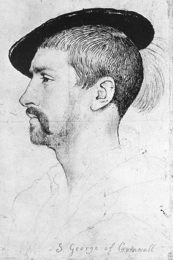 Simon George of Quocote - Hans Holbein the Younger