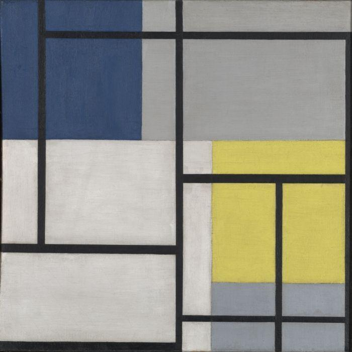 Simultaneous Composition XXIV - Theo van Doesburg