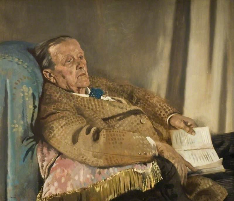 Sir Edwin Ray Lankester  1928 - William Orpen
