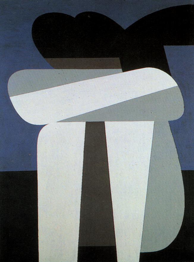 Sitting Figure - Yiannis Moralis