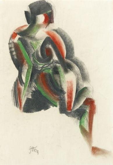 Sitting Woman - Henri Matisse
