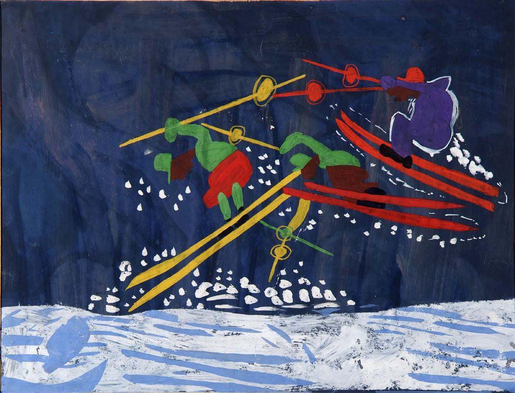 Ski Jump - William H. Johnson