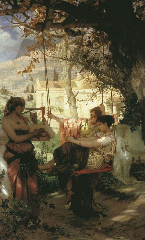 Slave's Song - Henryk Siemiradzki