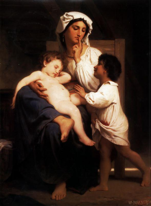 Sleep - William-Adolphe Bouguereau