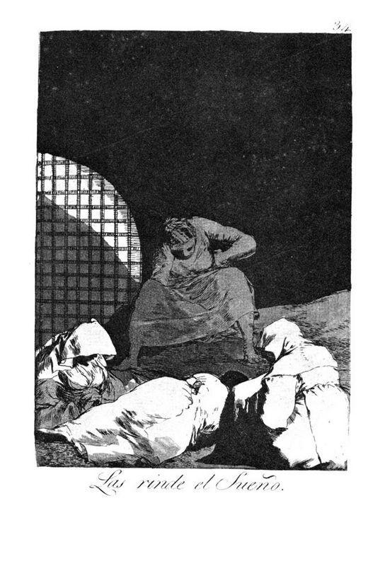 Sleep overcomes them - Francisco Goya