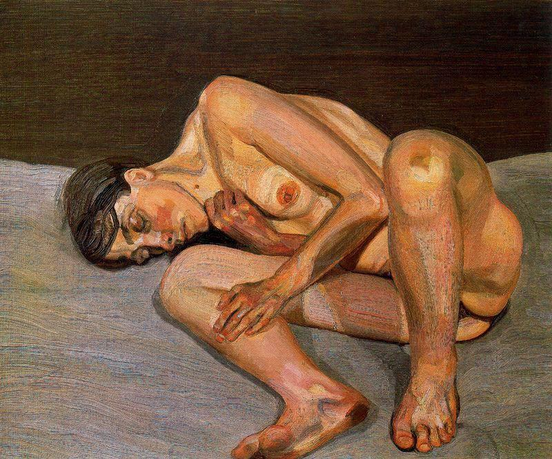 Small Naked Portrait - Lucian Freud