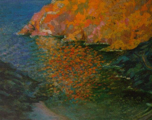 Small Rocky Bay of Nans (Cadaques) - Salvador Dali
